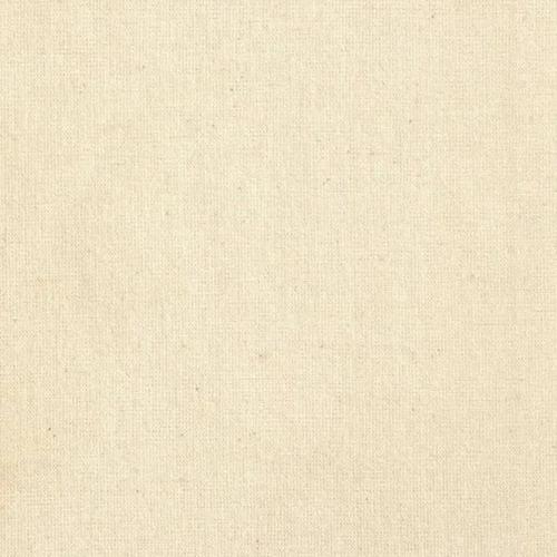 5 Peças Tecido Algodão Crú - 50cm X 160cm