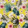 Tecido Impermeável Estampado - Floral Amarelo - 50cm x 140cm