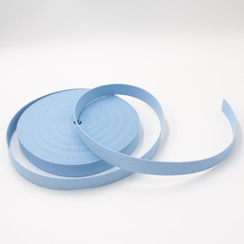 Alça de Poliéster - Azul Bebê 3cm