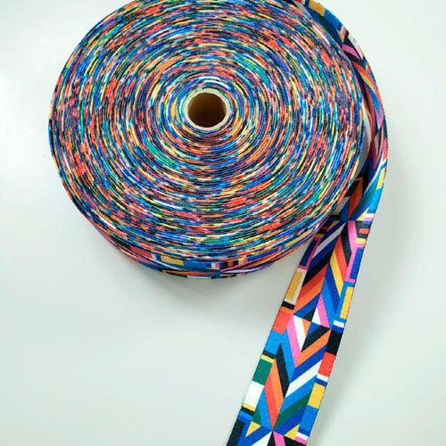 Alça de Poliéster Color 4cm