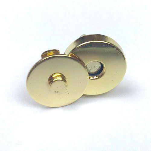 Botão de Imã Dourado Nº 14