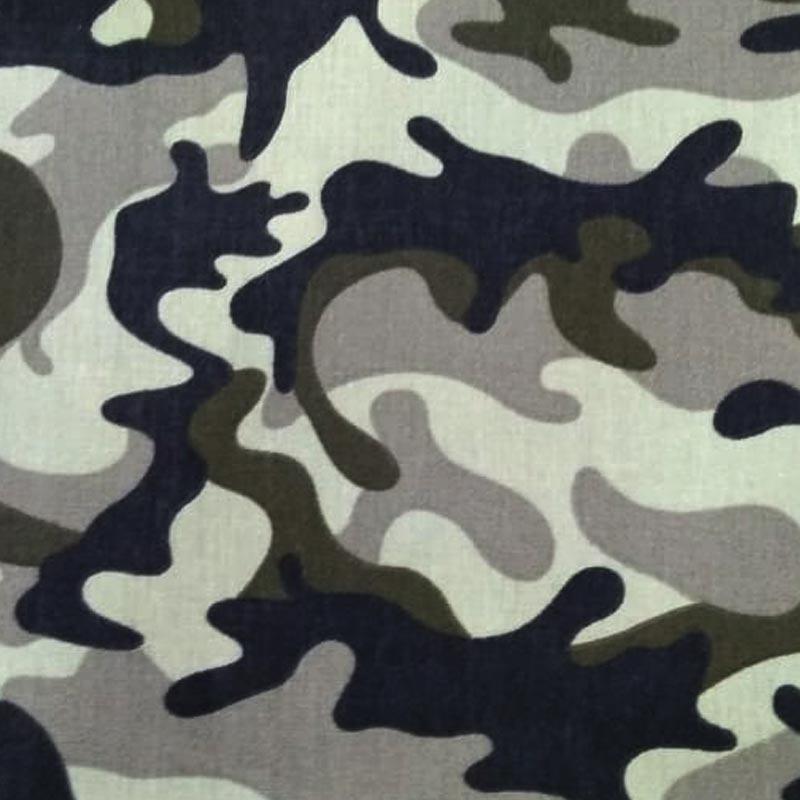 Caldeira Coleção Camuflado - Estampa Camuflado Exército - 50cm x 150cm