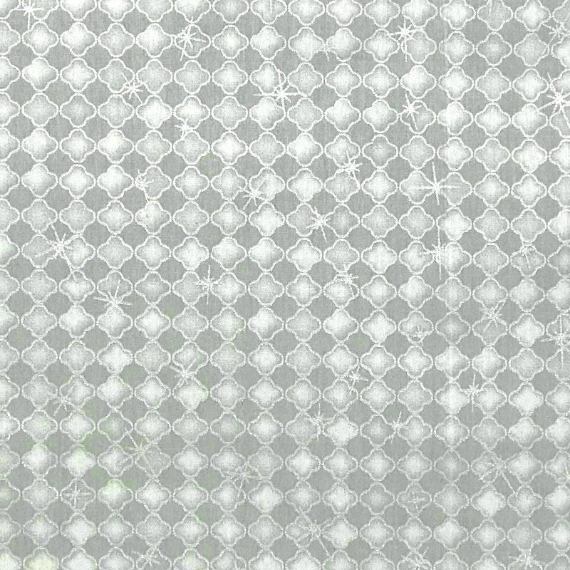 Caldeira - Coleção Natal - Estampa Natal Branca - 50cm x 150cm