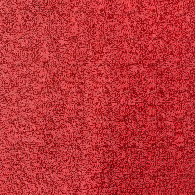 Caldeira - Coleção Natal - Estampa Textura Vermelha - 50cm x 150cm