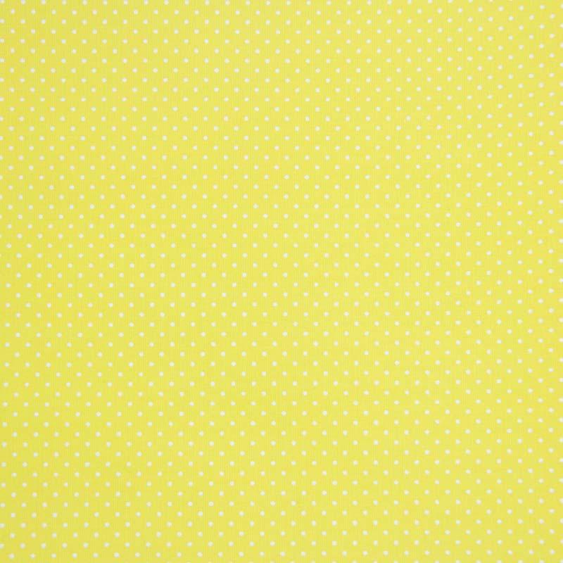 Caldeira - Estampa Poá Fundo Amarelo - 50cm x 150cm