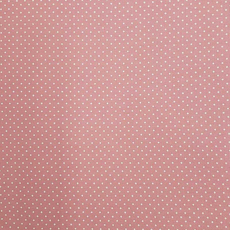Caldeira - Estampa Poá Fundo Rosa - 50cm x 150cm