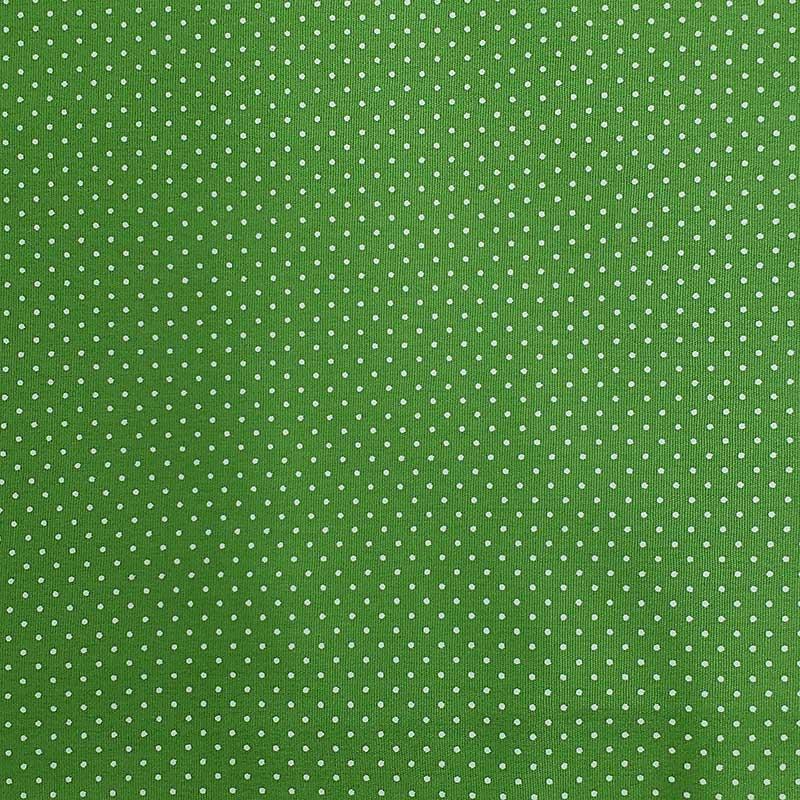 Caldeira - Estampa Poá Fundo Verde Grama - 50cm x 150cm
