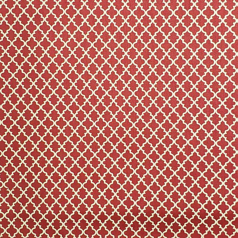 Caldeira - Estampa Vitral Rosê Escuro - 50cm x 150cm