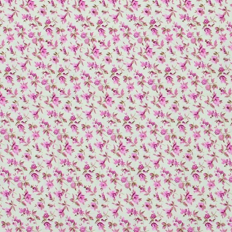 Caldeira - Floral Ramo Cor Rosa - 50cm x 150cm