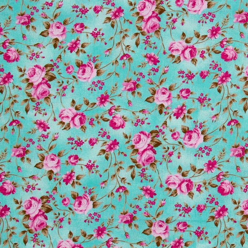 Caldeira - Floral Rosa Tiffany - 50cm x 150cm
