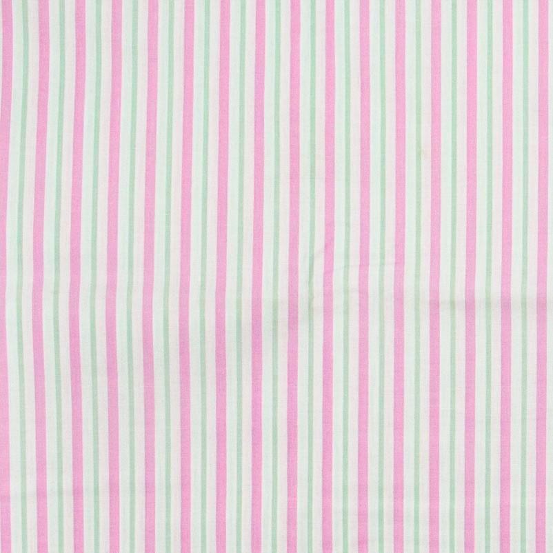 Caldeira - Listrado Rosa/Verde - 50cm x 150cm
