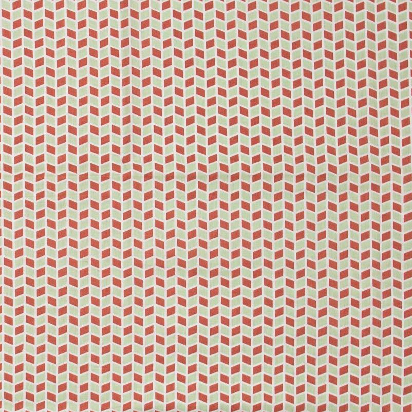 Caldeira - Losangos Vermelho/Verde - 50cm x 150cm
