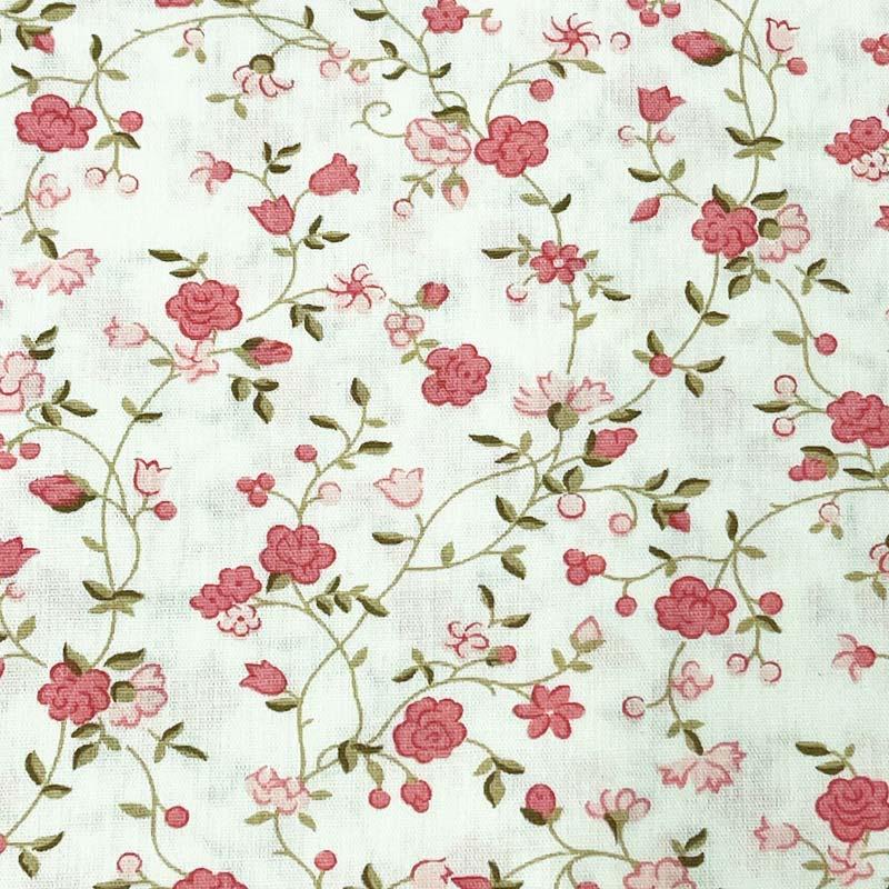 Caldeira - Mini Floral Rosa - 50cm X150cm