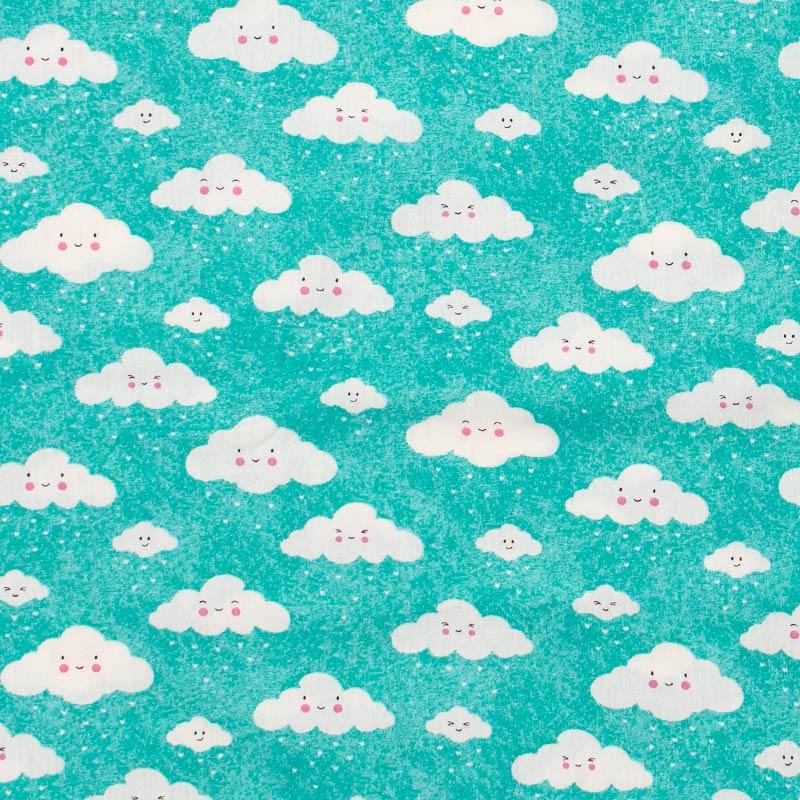 Caldeira - Nuvens Branca Tiffany - 50cm x 150cm