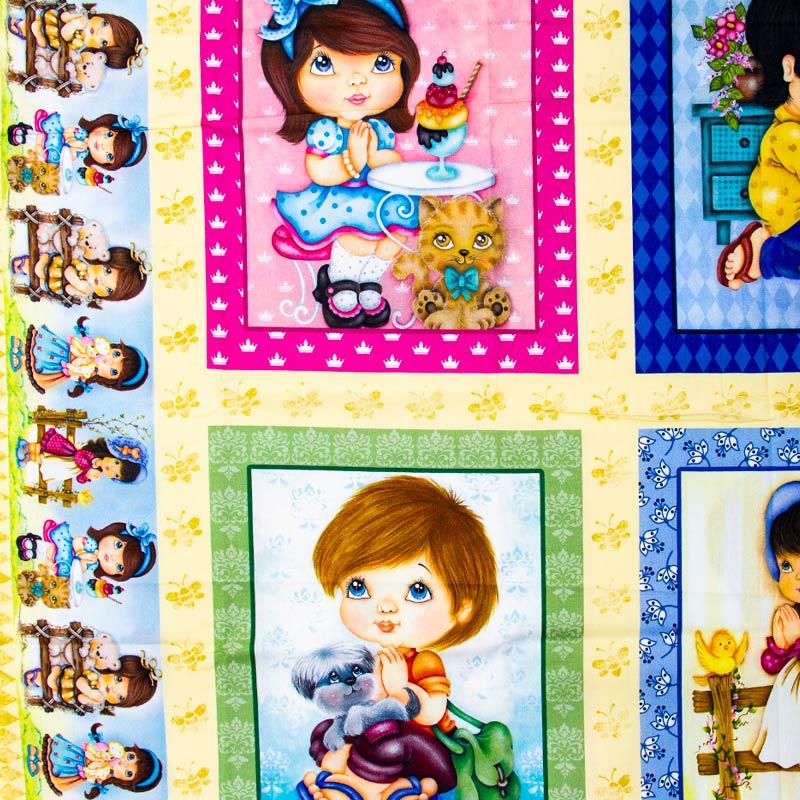 Painel Crianças Quadro - 60cm X150cm