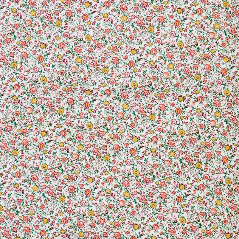 Niazi - Micro Floral Salmão - 50cm X150cm