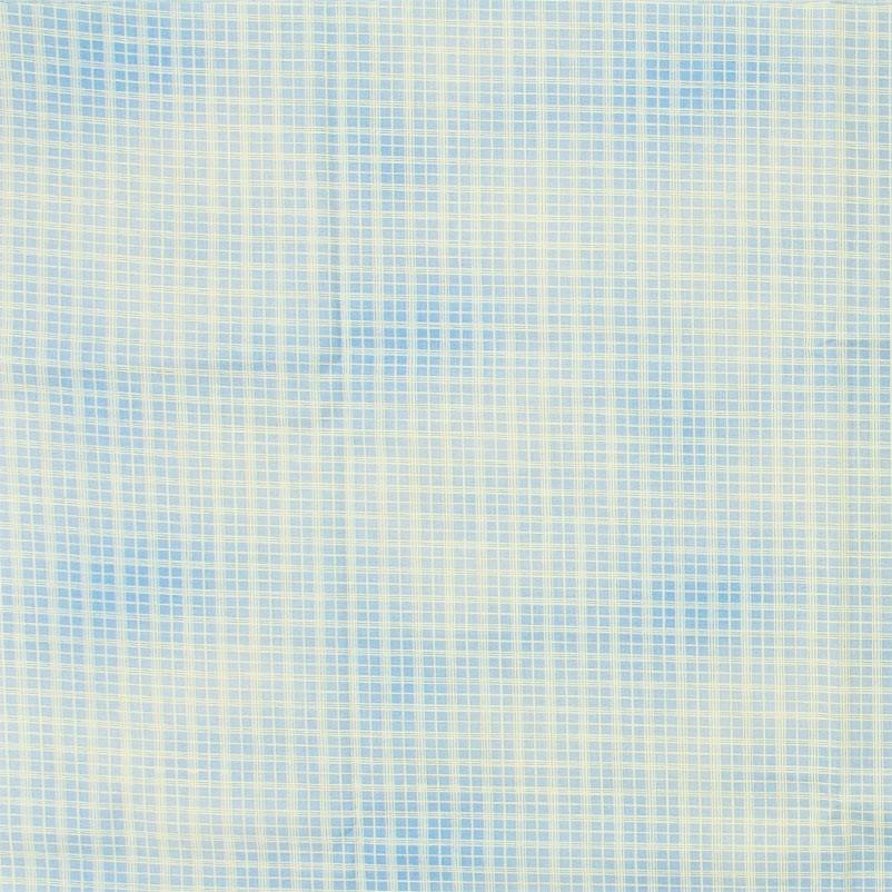 Xadrez Azul Nuvens Branco- 50cm X150cm