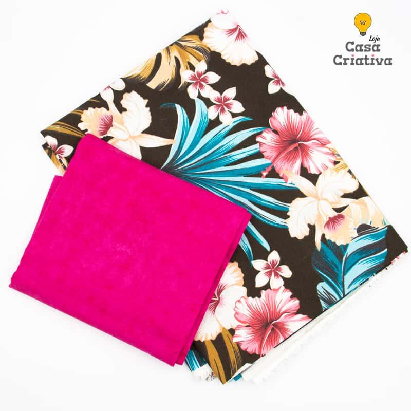 Composé Mesa Posta - Folhagem Pink - 50cmx140cm e 50cmx150cm