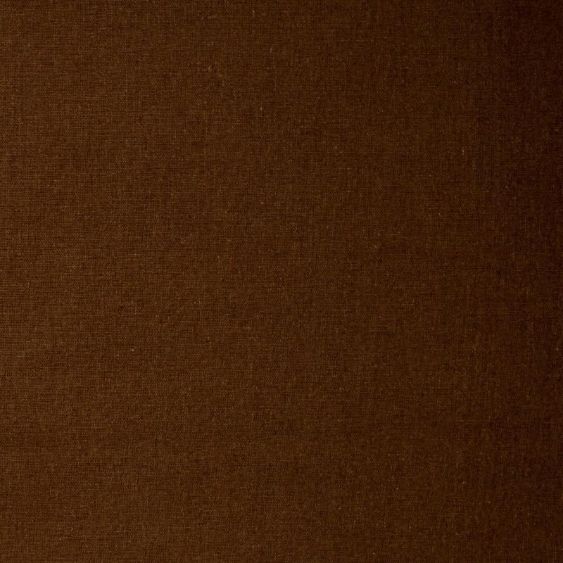 1000 Tons - Linho Misto Liso - Marrom - 50cm X136cm