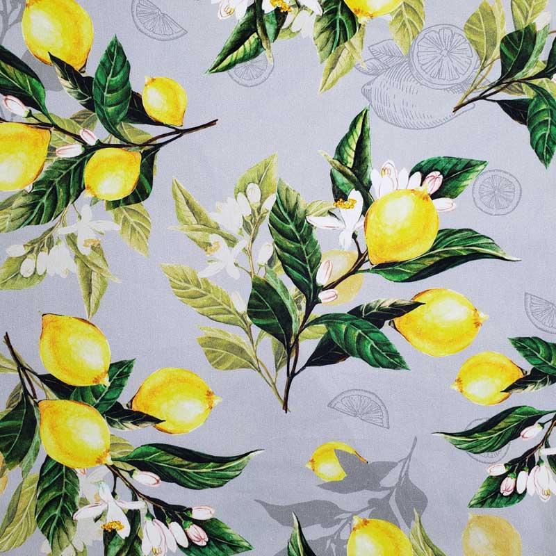 Cris Mazzer - Coleção Sarja Limão Limoeiro - 50cm X150cm
