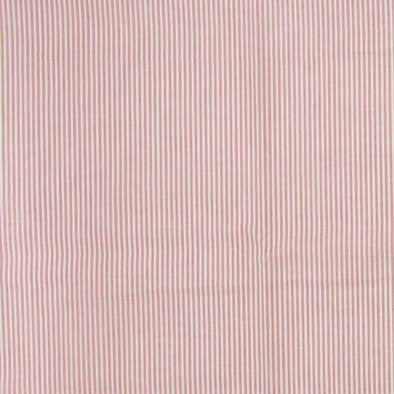 Cris Mazzer - Estampa Coleção Pó de Arroz Listras Rose - 50cm x 150cm