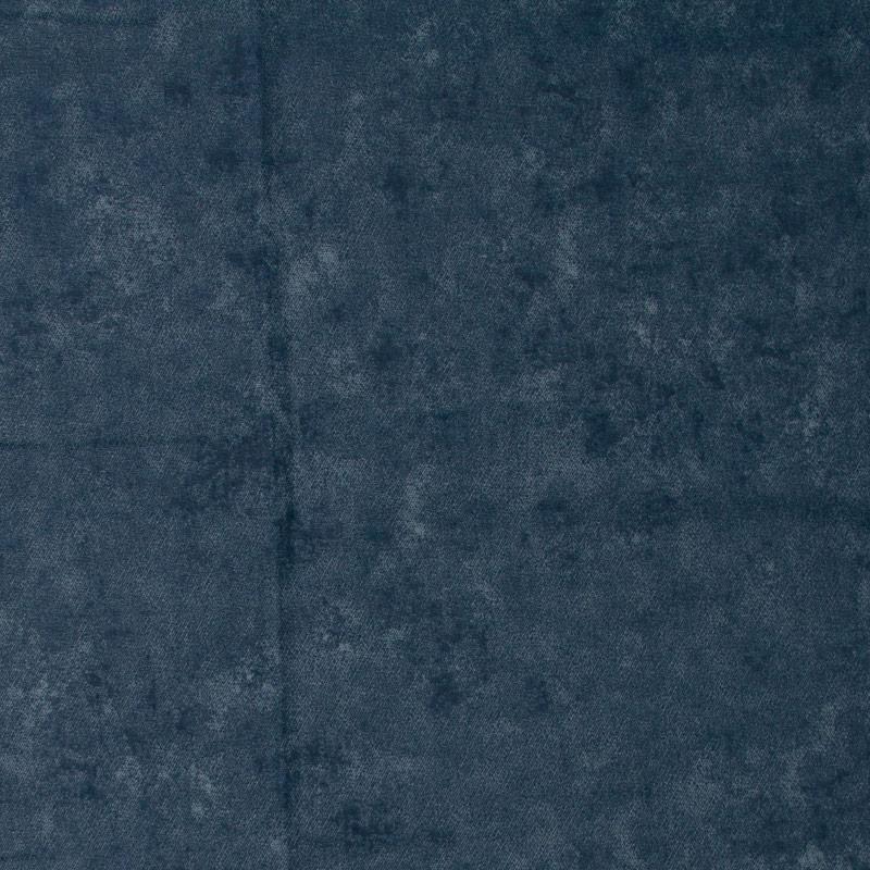 Cris Mazzer - Estampa Estonado Azul Petróleo - 50cm x 150cm