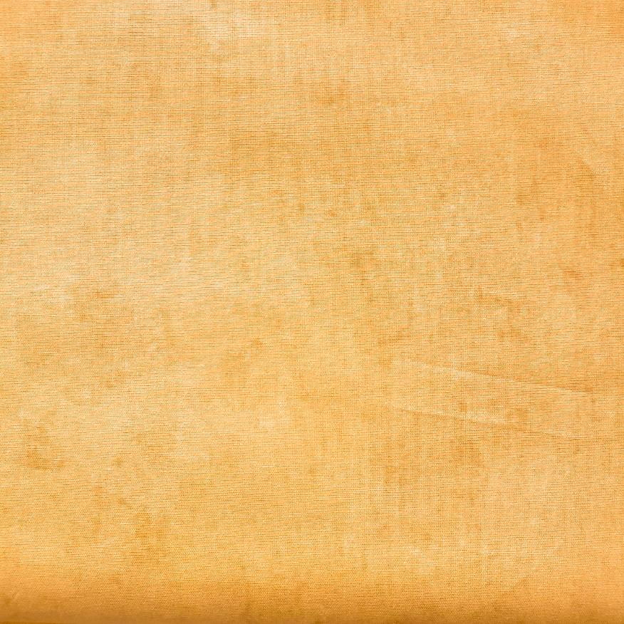 Tecido Tricoline Estonado - Mostarda - 50cm X150cm