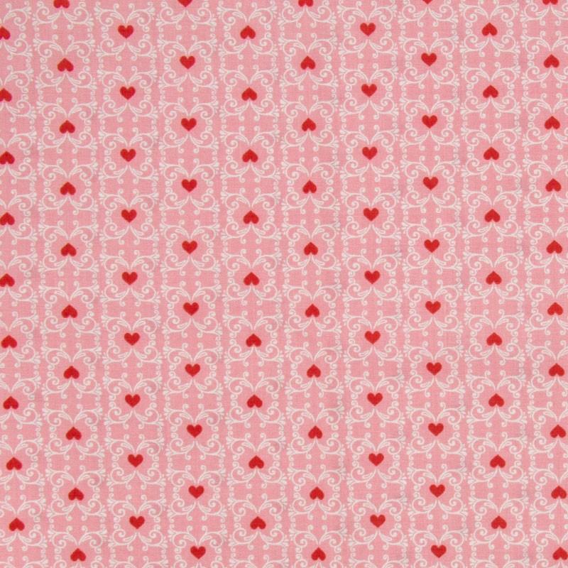 Cris Mazzer - Estampa Floresta Encantada Rosa - 50cm x 150cm