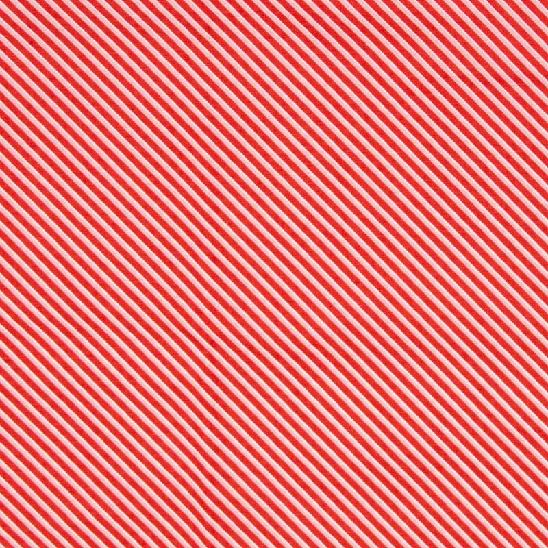 Cris Mazzer - Estampa Floresta Encantada Rosa Listrado - 50cm x 150cm