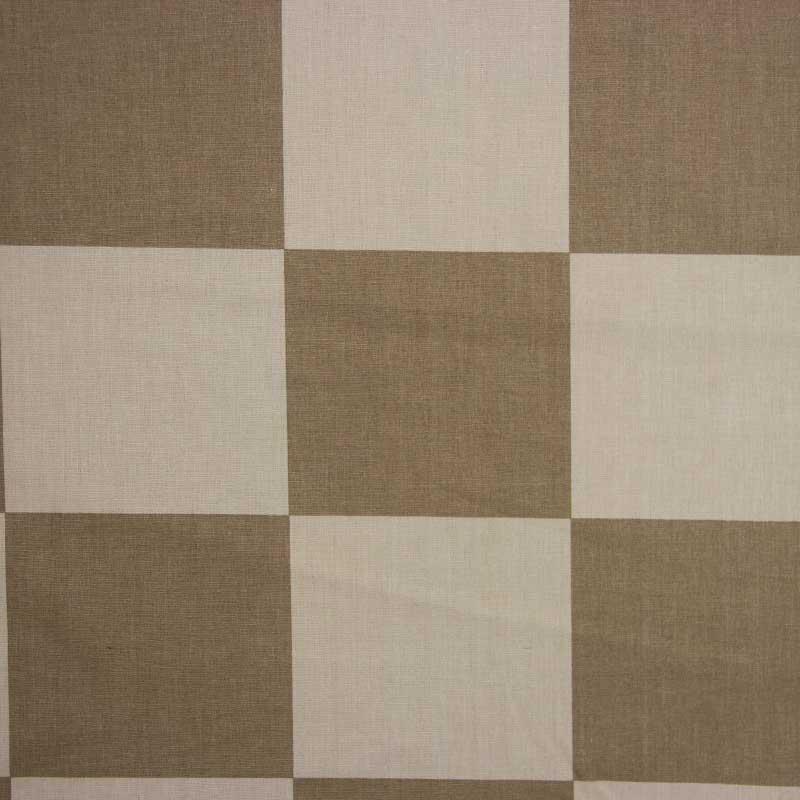 Cris Mazzer - Estampa Quadriculado Bege - 50cm x 150cm