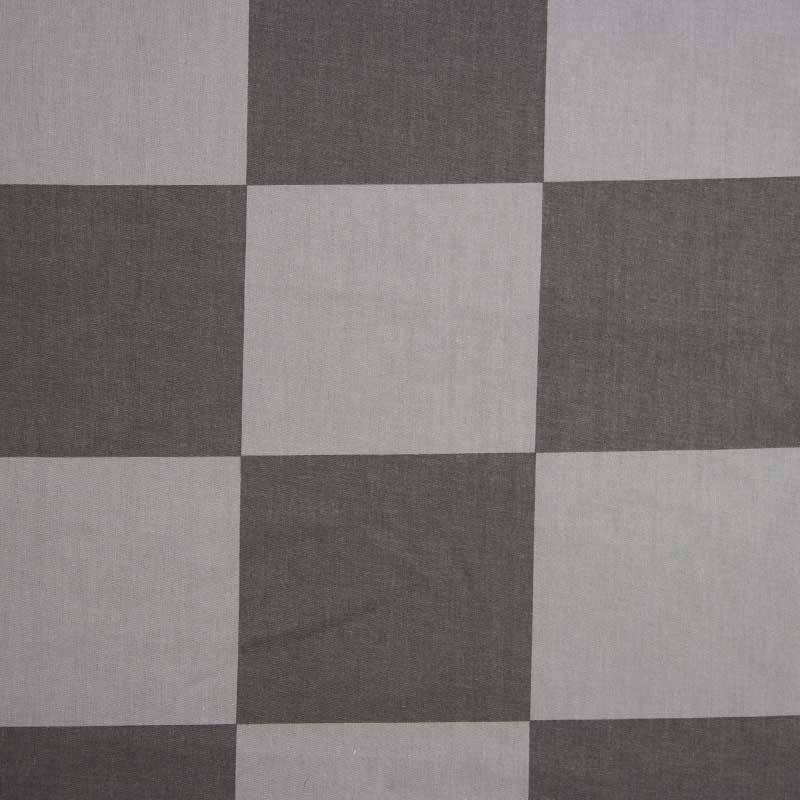 Cris Mazzer - Estampa Quadriculado Preto - 50cm x 150cm