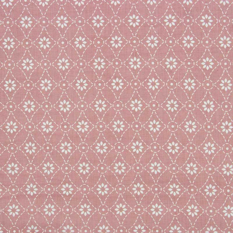 Cris Mazzer - Estampa Rebordando Rosa - 50cm x 150cm