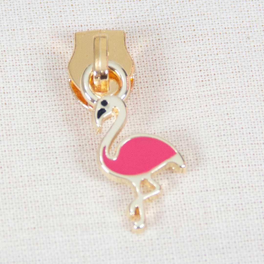 Cursor Flamingo Dourado Pequeno Nº 5
