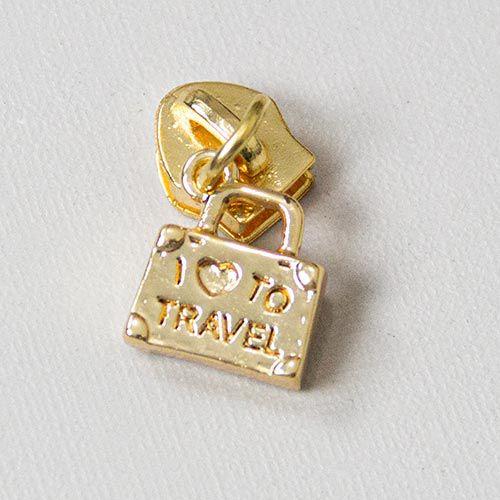 Cursor Mala de Viagem Dourado Nº 5