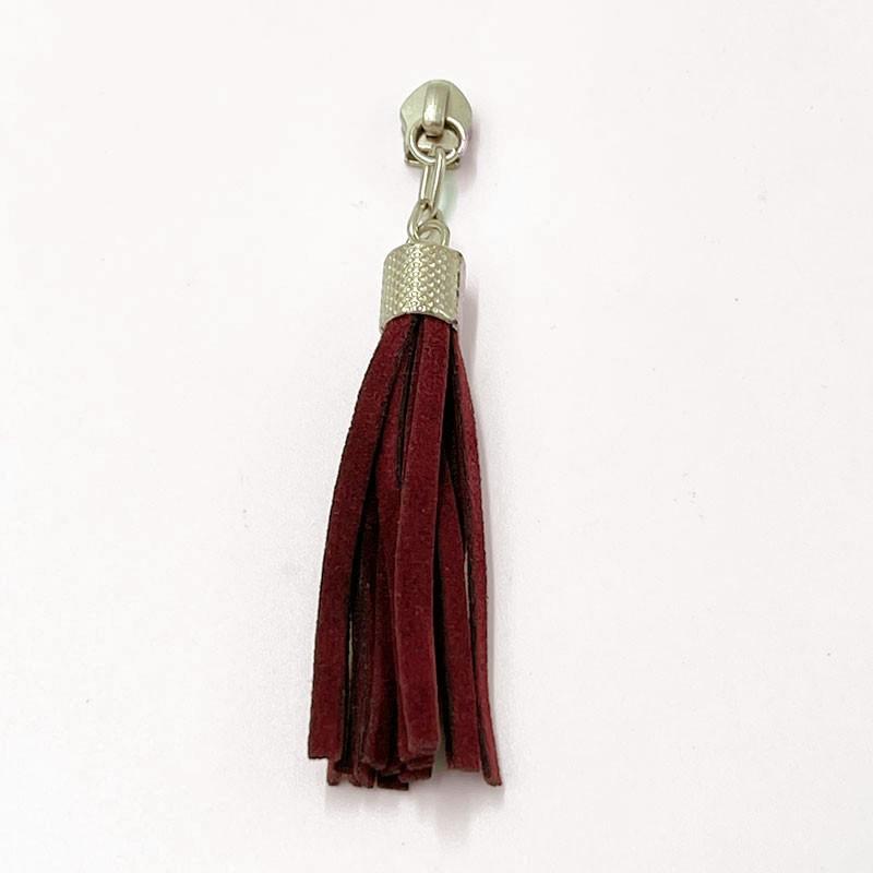 Cursor Tassel Bordô Com Niquelado Nº 5