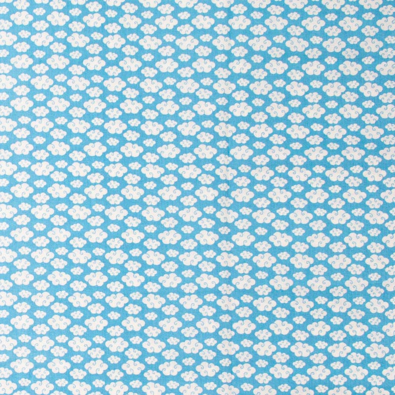 Decorart - Mini Nuvens Fundo Azul - 50cm x 150cm