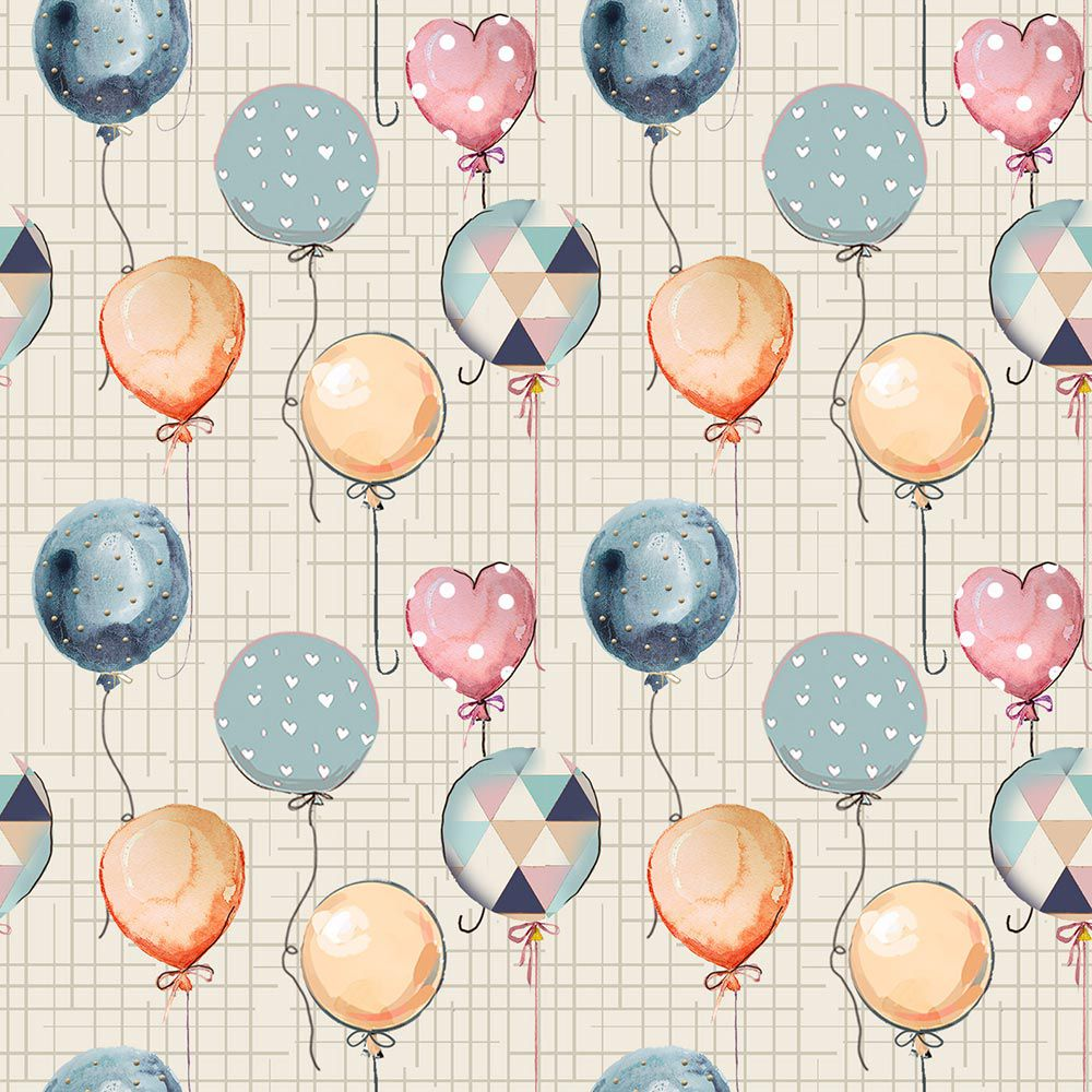 Estampa Balões Coloridos