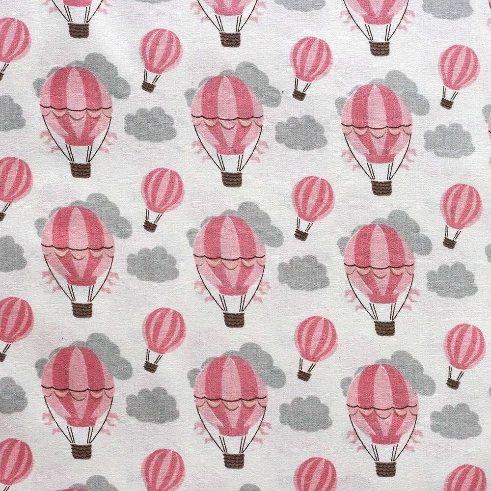 Estampa Balões Rosa