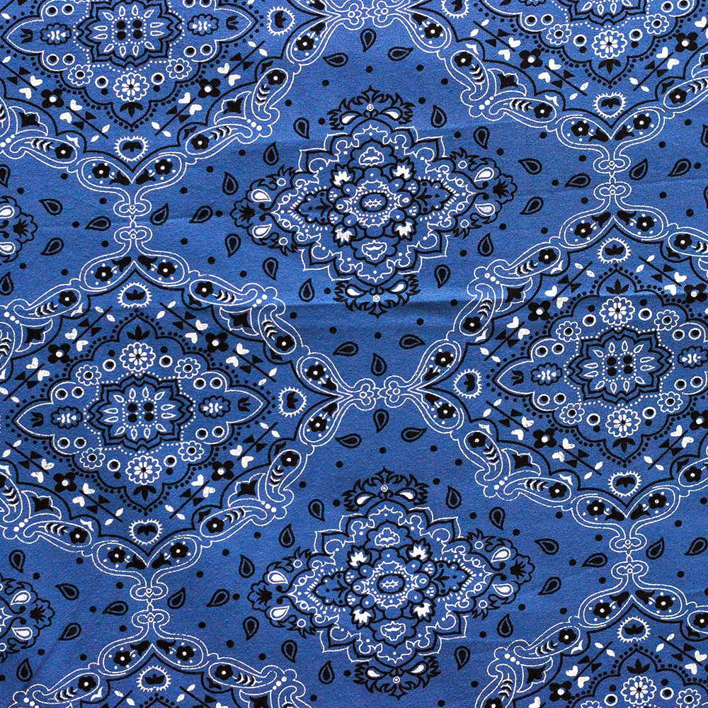 Estampa Bandana Azul
