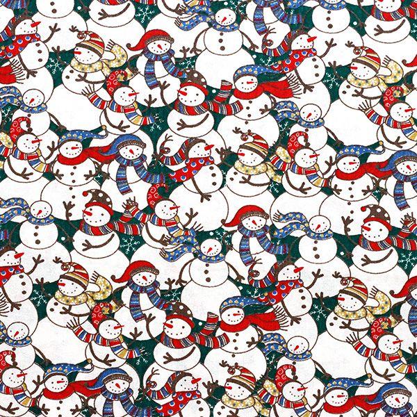 Estampa Boneco de Neve