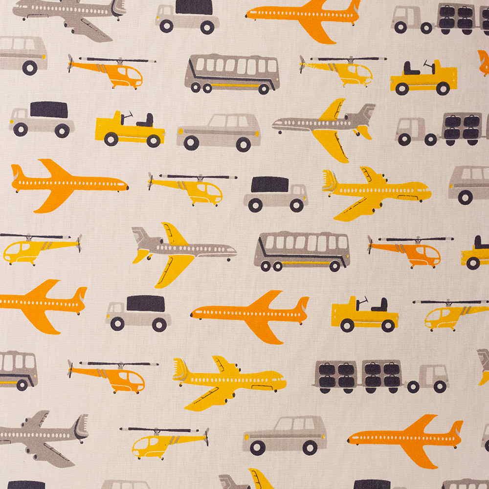 Estampa Carros e Aviões