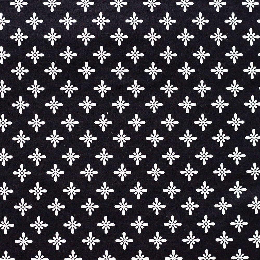Estampa Estrelas Fundo Preto