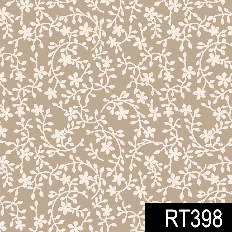 Fuxicos e Fricotes - Coleção Finesse - Raminhos Finesse Bege - 50cm X150cm