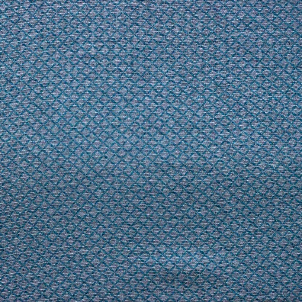 Estampa Geométrica Azul Tiffany