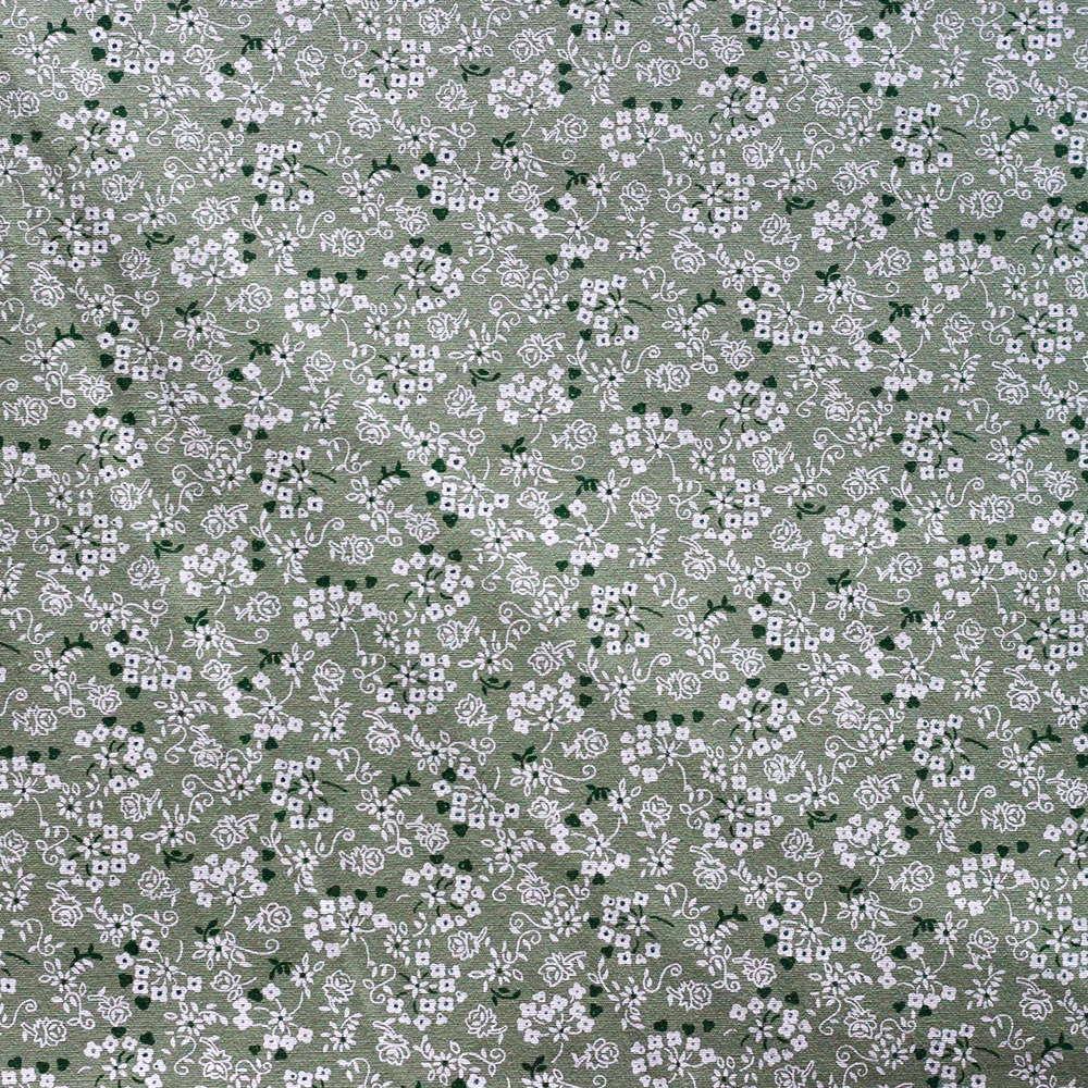 Estampa Micro Floral Verde