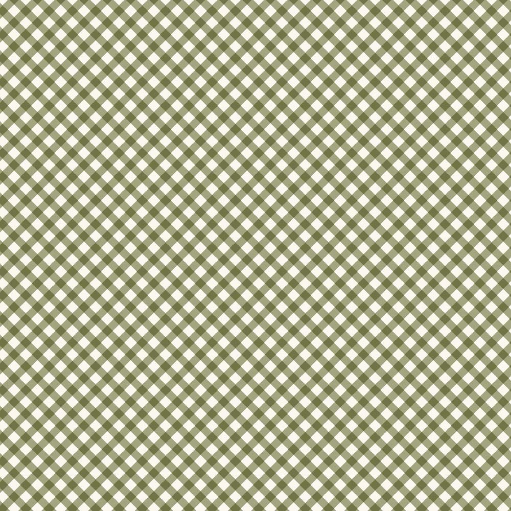 Estampa Micro Xadrez Verde