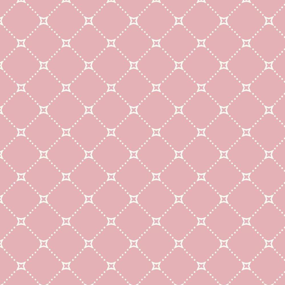 Estampa Paris Geométrico Rosa
