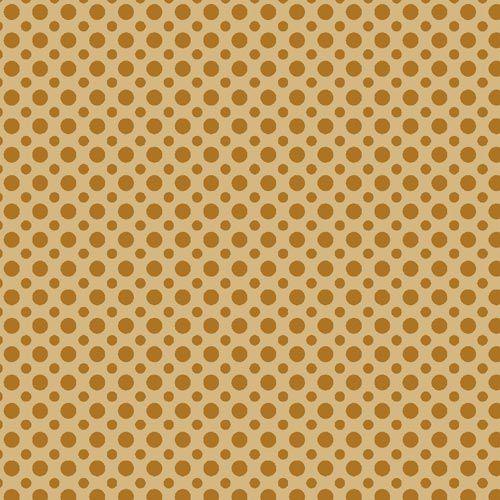 Fuxicos e Fricotes Coleção Poá TomTom - Poá Amarelo Queimado- 50cm X150cm