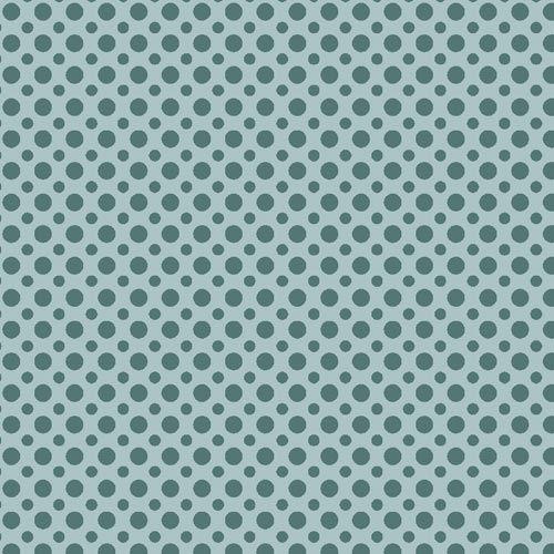 Fuxicos e Fricotes Coleção Poá TomTom - Poá Azul Oceano - 50cm X150cm