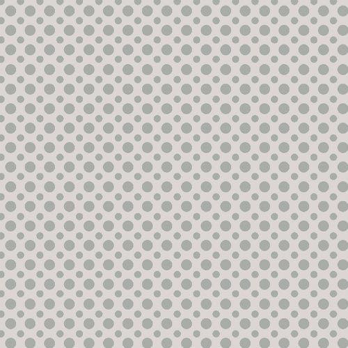Fuxicos e Fricotes Coleção Poá TomTom - Poá Cinza - 50cm X150cm